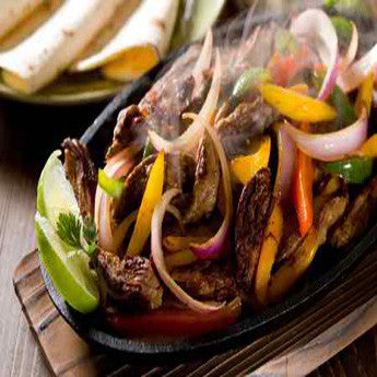 GRILLED SKIRT STEAK AND POBLANO FAJITAS RECIPE