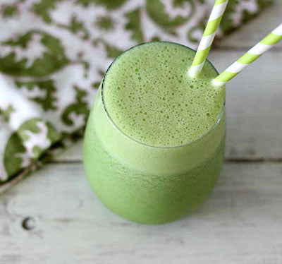 THE MINTY GREEN BANANA SMOOTHIE