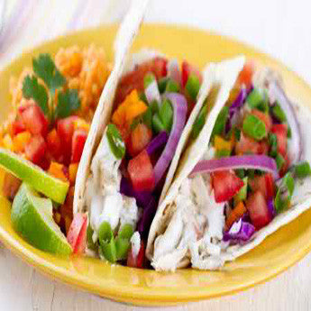 GRILLED TILAPIA TACOS WITH PICO DE GALLO RECIPE