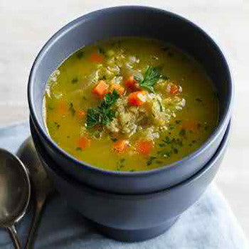 RED LENTIL & CARROT SOUP