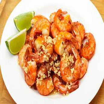 GRILLED LIME GARLIC FIESTA SHRIMP RECIPE