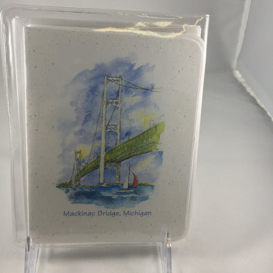 Mackinac Bridge notecards