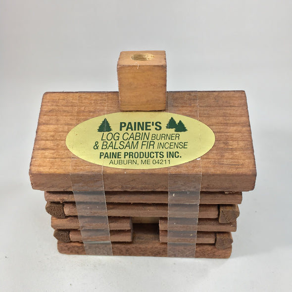 Cabin Balsam Incense Burner with Incense