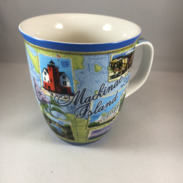 Collage harbor mug
