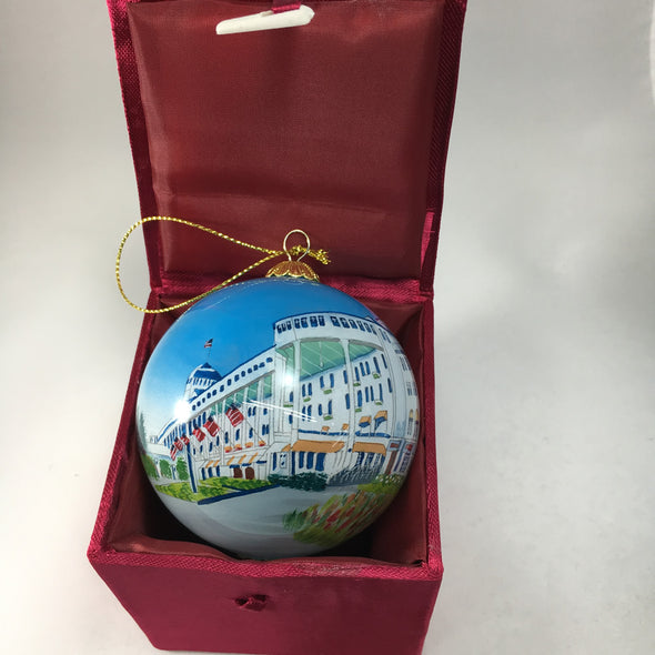 Grand Hotel Glass Ball Ornament