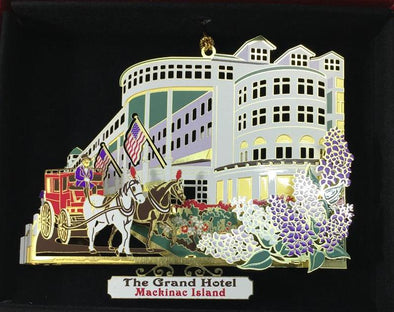 Brass Painted Grand Hotel Ornament
