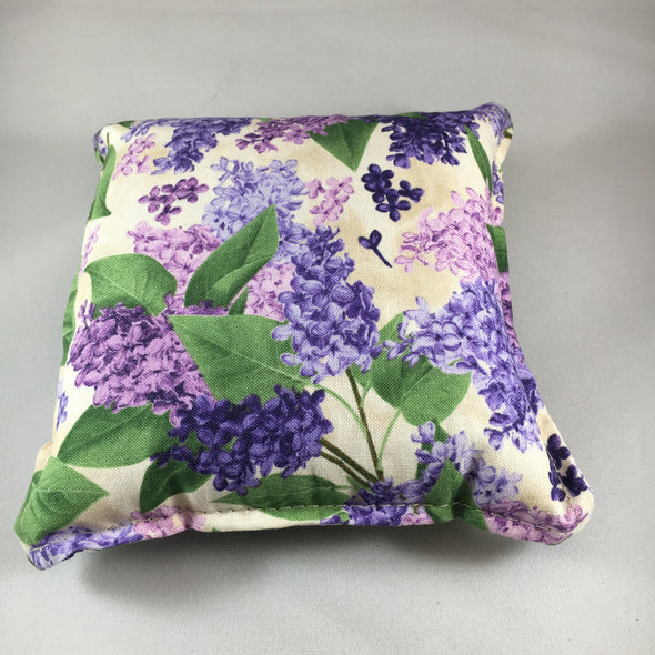 Lilac print balsam pillow