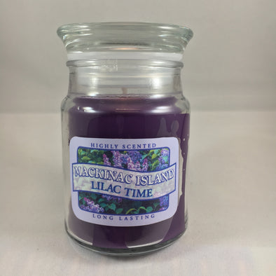 Lilac jar candle 5 oz.