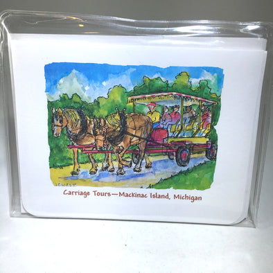 Note Cards - Carriage Tours Buggy