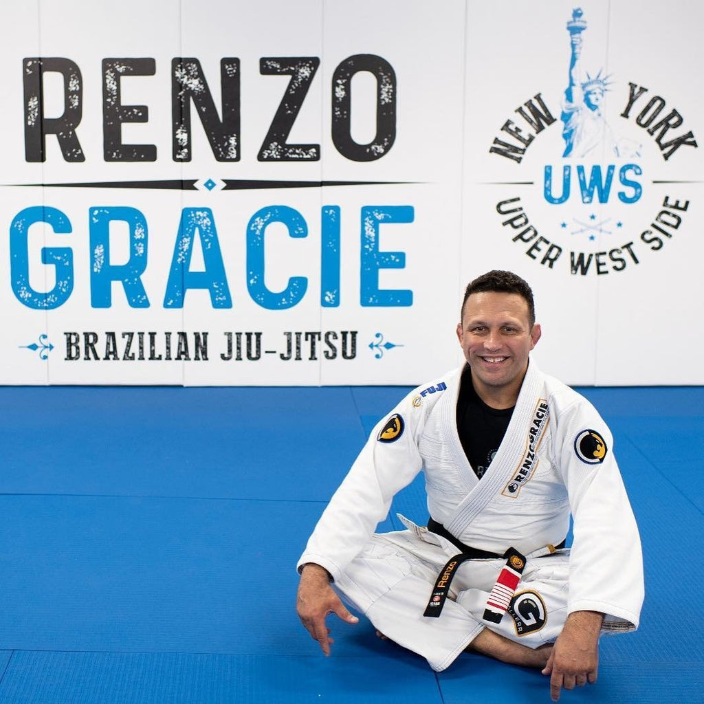 Custom Black Belts for Renzo Gracie's New Gym