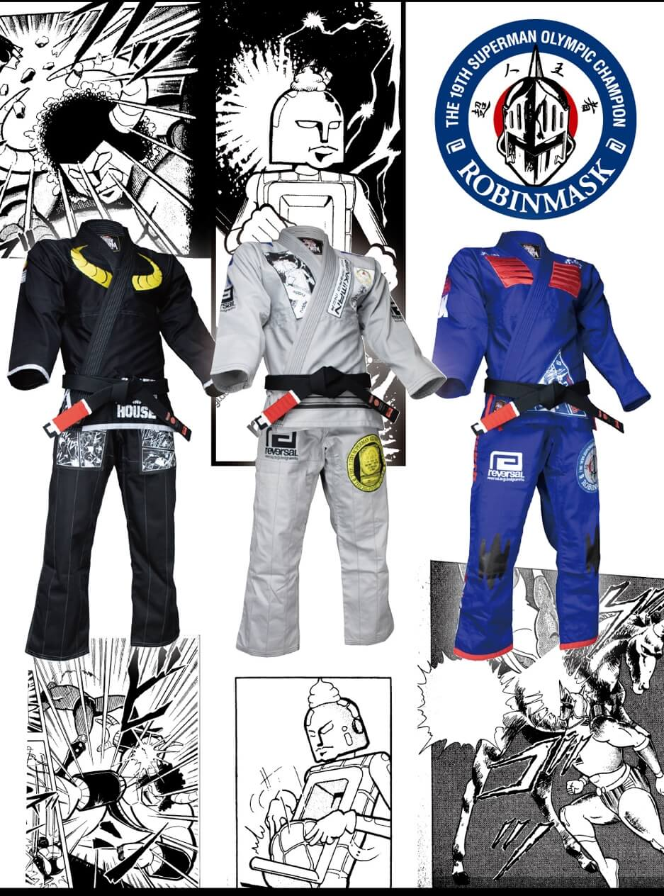 Buy Kinnikuman BJJ Gis from Reversal Japan