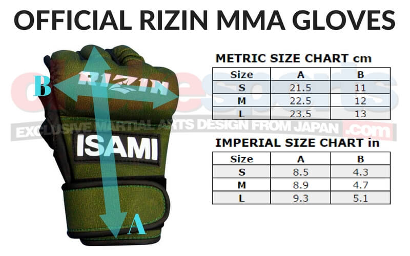 Rizin MMA Gloves ChokeSports