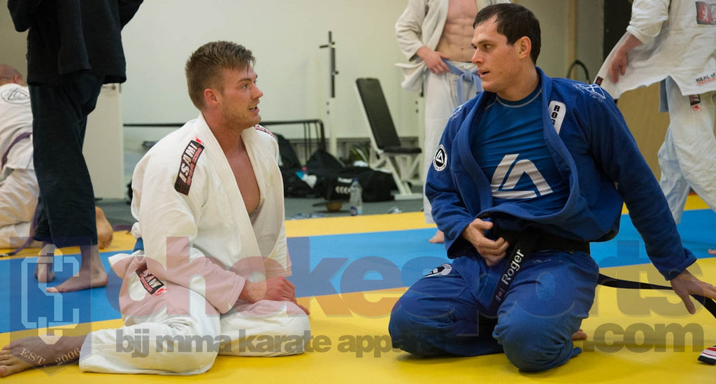 Roger Gracie ChokeSports Black Belt in Copenhagen