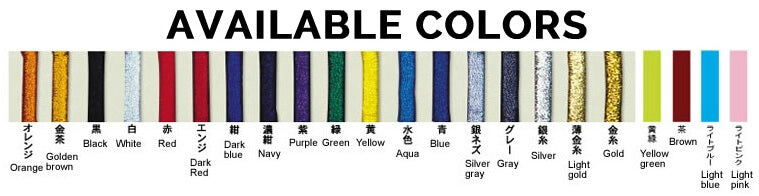 ChokeSports Isami Embroidery Colors