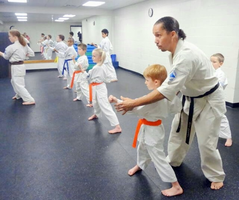 Kenny Buffaloe's Kyokushin Karate North Carolina