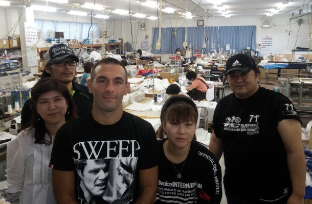 ChokeSports and Isami production line in Japan