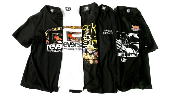 Kengan Ashura t-shirt collection from Reversal