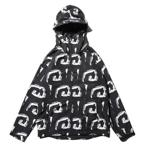Big Mark Shell Jacket-Reversal RVDDW-ChokeSports