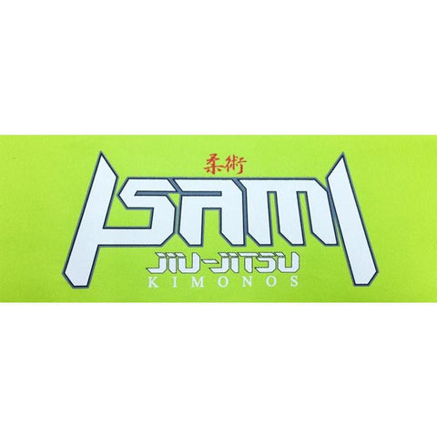 Isami Jiu-Jitsu Green Patch-Isami-ChokeSports
