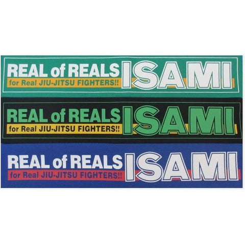 Real of Reals Patch-Isami-ChokeSports