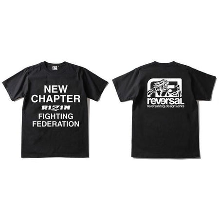 Rizin MMA New Chapter T-Shirt-Reversal RVDDW-ChokeSports