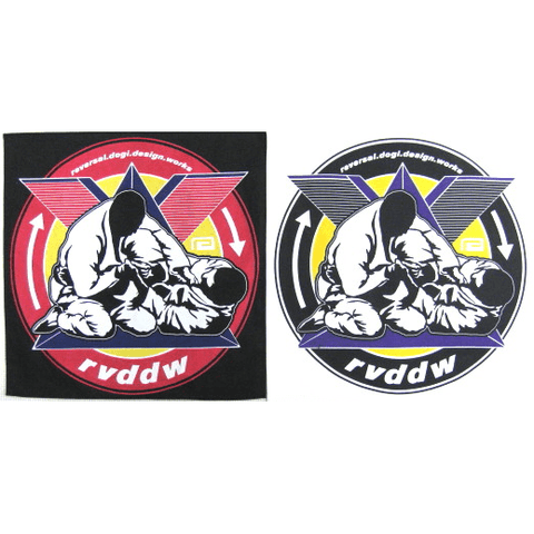 RVDDW Newaza Circle Patch-RVDDW Patches-ChokeSports