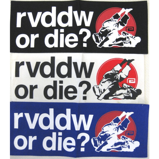 RVDDW Or Die Patch-RVDDW Patches-ChokeSports