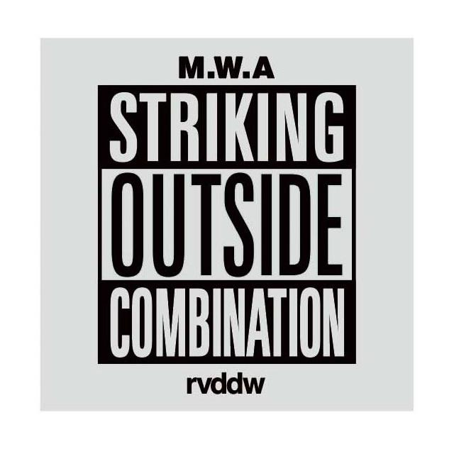 RVDDW Striking Cut Sticker-Reversal RVDDW-ChokeSports