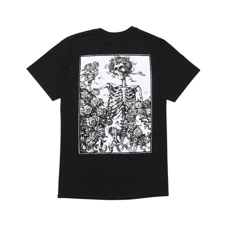 Skull and Roses T-Shirt-Reversal RVDDW-ChokeSports