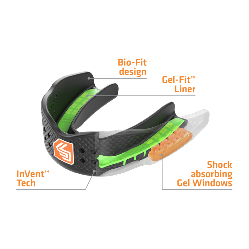 SuperFit Mouthguard-Shock Doctor-ChokeSports