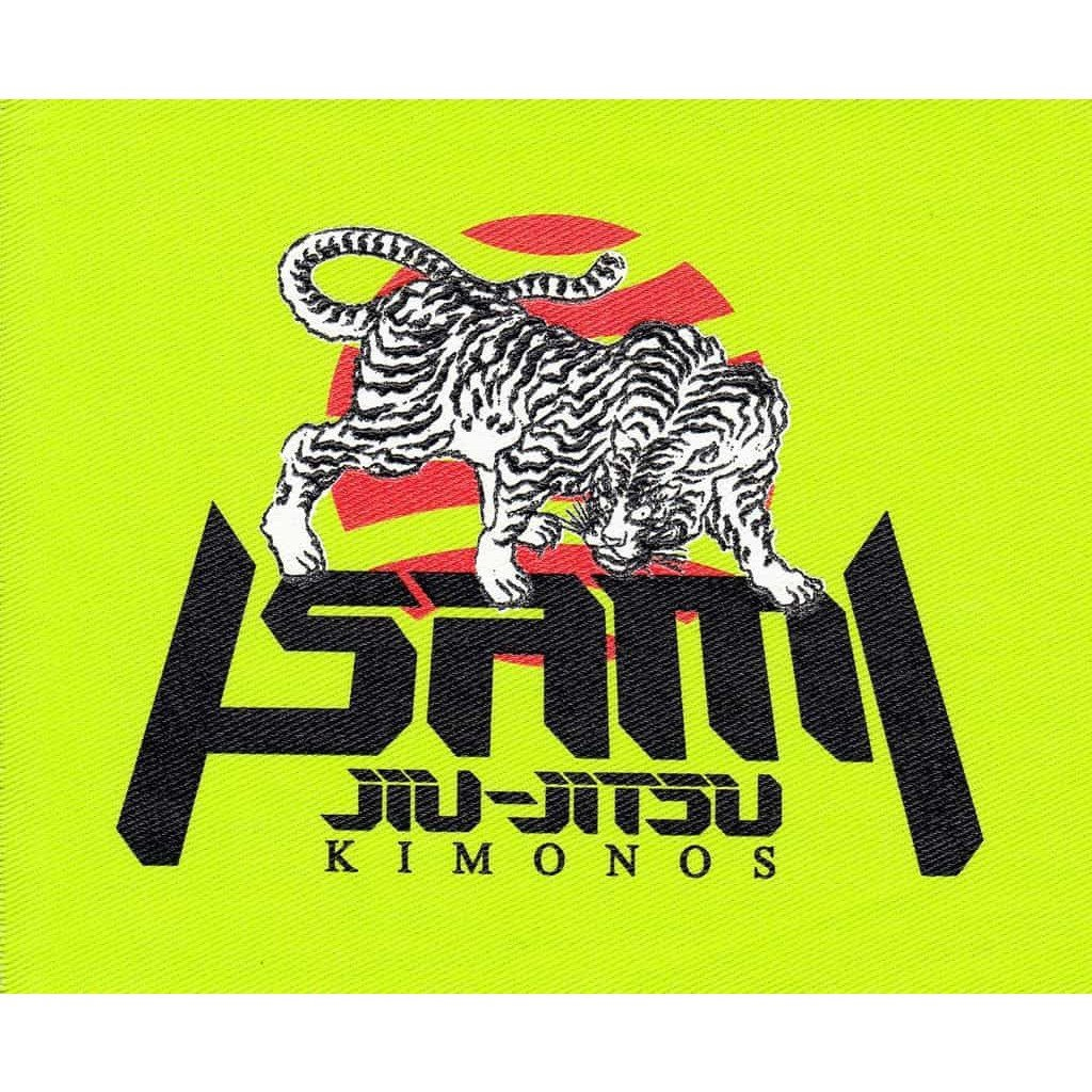 Tora BJJ Patch-Isami-ChokeSports