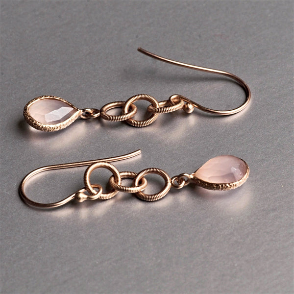 Joy Rose Gold Earrings