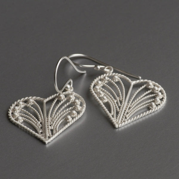 Maika Earrings In Sterling Silver