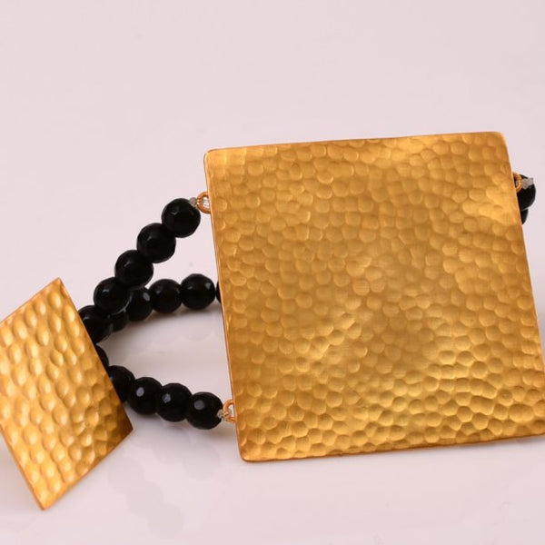 Amaya Bracelet With Black Onyx