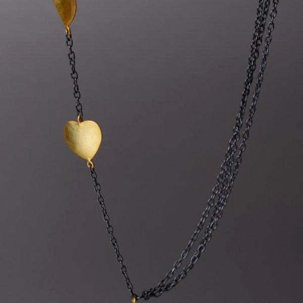 Merak Necklace in Gold