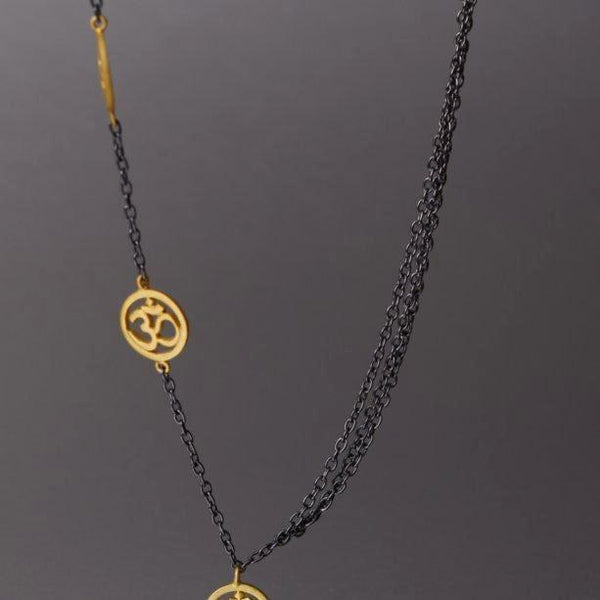 Ganesh Necklace In Gold