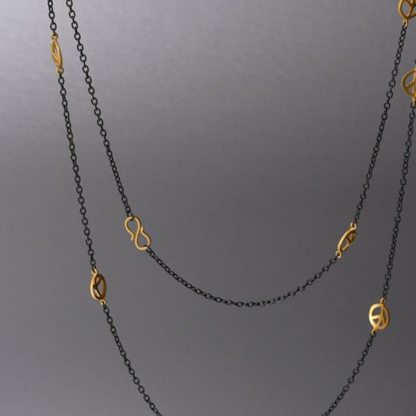 Shanti Necklace in Gold