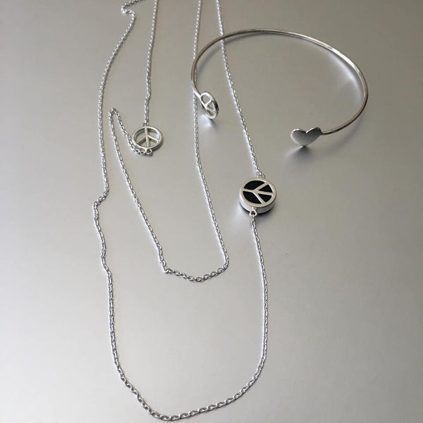 Shanti Necklace In Sterling Silver