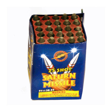 25 Shot Saturn Missile Battery