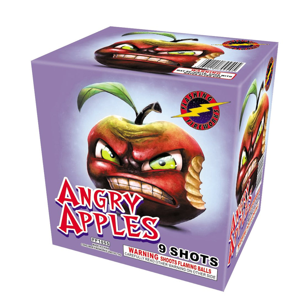 Angry Apples - Flashing Fireworks