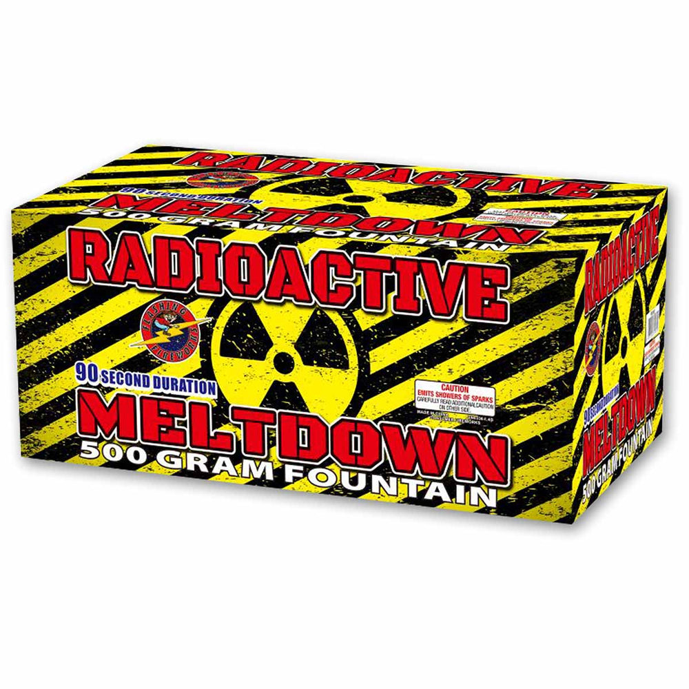 Radioactive Meltdown by Flashing Fireworks