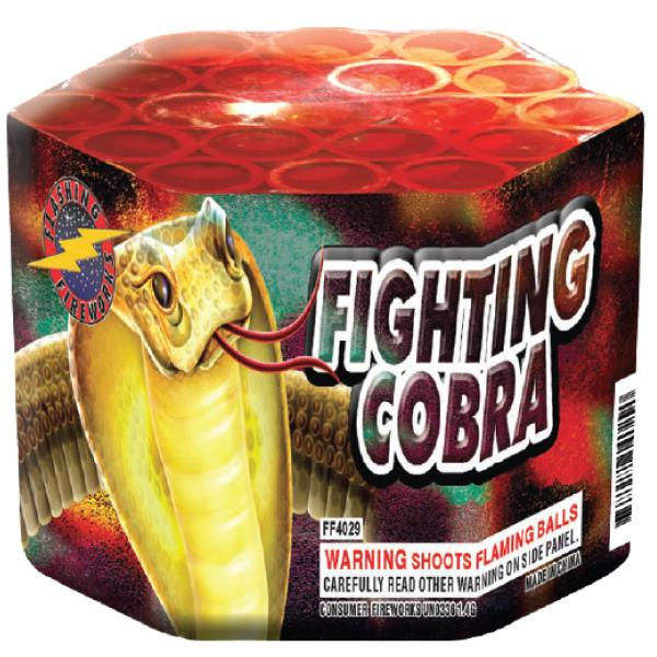 Fighting Cobra by Flashing Fireworks