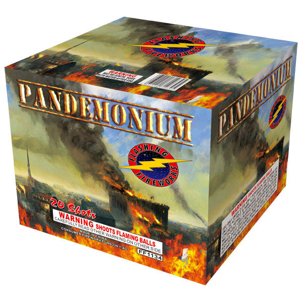 Pandemonium by Flashing Fireworks