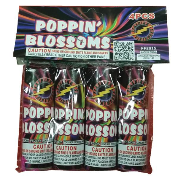Poppin' Blossoms by Flashing Fireworks