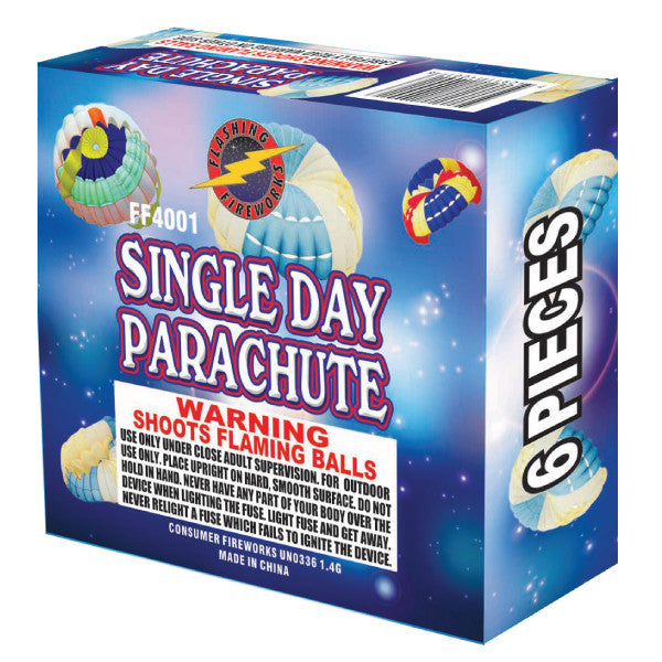 Single Day Parachute