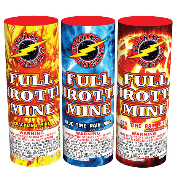 Full Throttle Mine by Flashing Fireworks