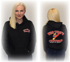 Black Wild Willy's Gear Hooded Original Sweatshirt