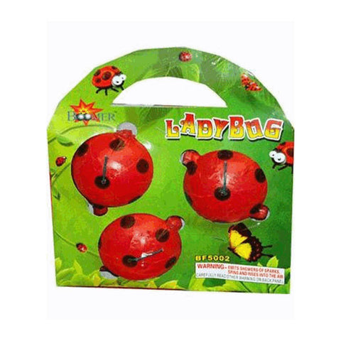 Lady Bugs - (Bag of 3)