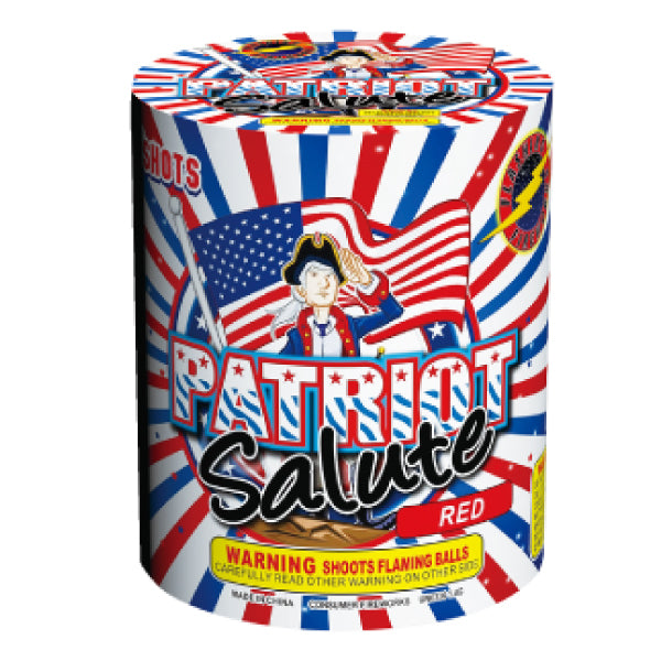 Patriot Salute by Flashing Fireworks