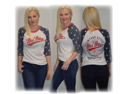 White Wild Willy's Gear Patriotic T's